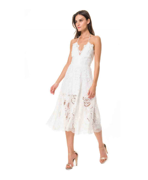 AubreyMidiDress Lace Midi Dress