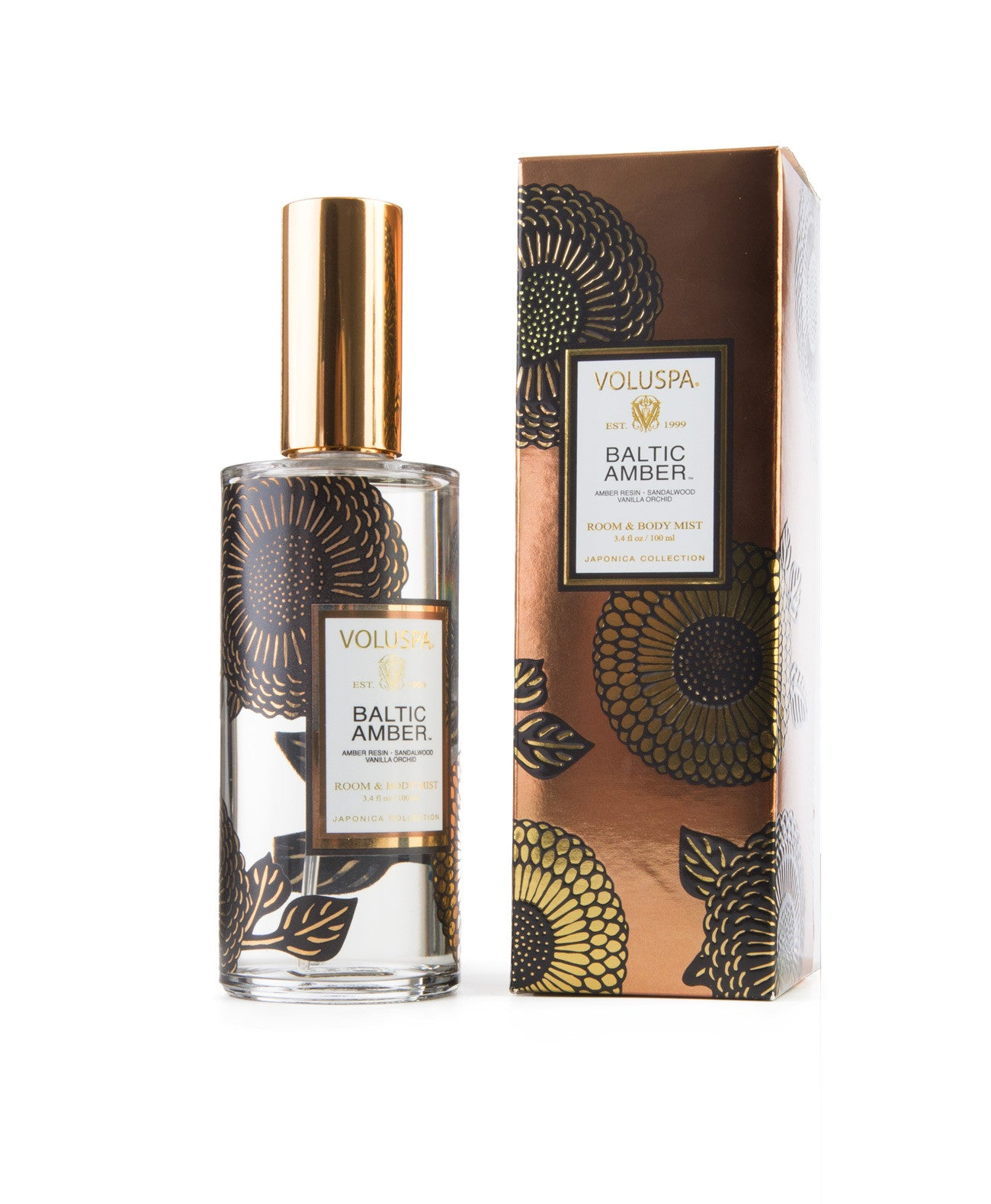 Baltic Amber Body and room spray - Koko & Palenki