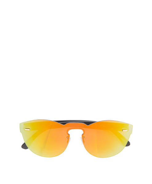 Beka Flat Mirrored Sunglasses