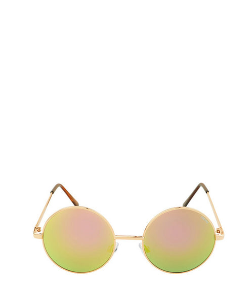 Brooke Round Mirror Sunglasses