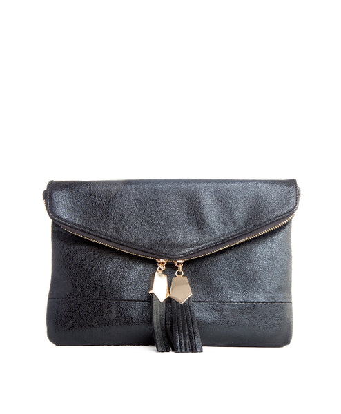 Brooklyn black clutch