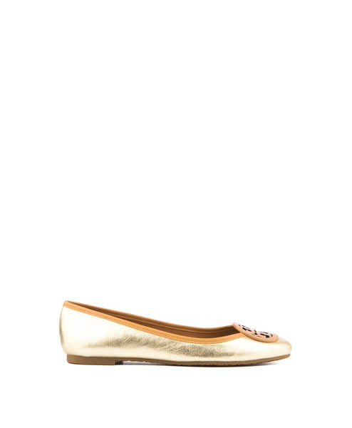 Louisa Metallic Flat