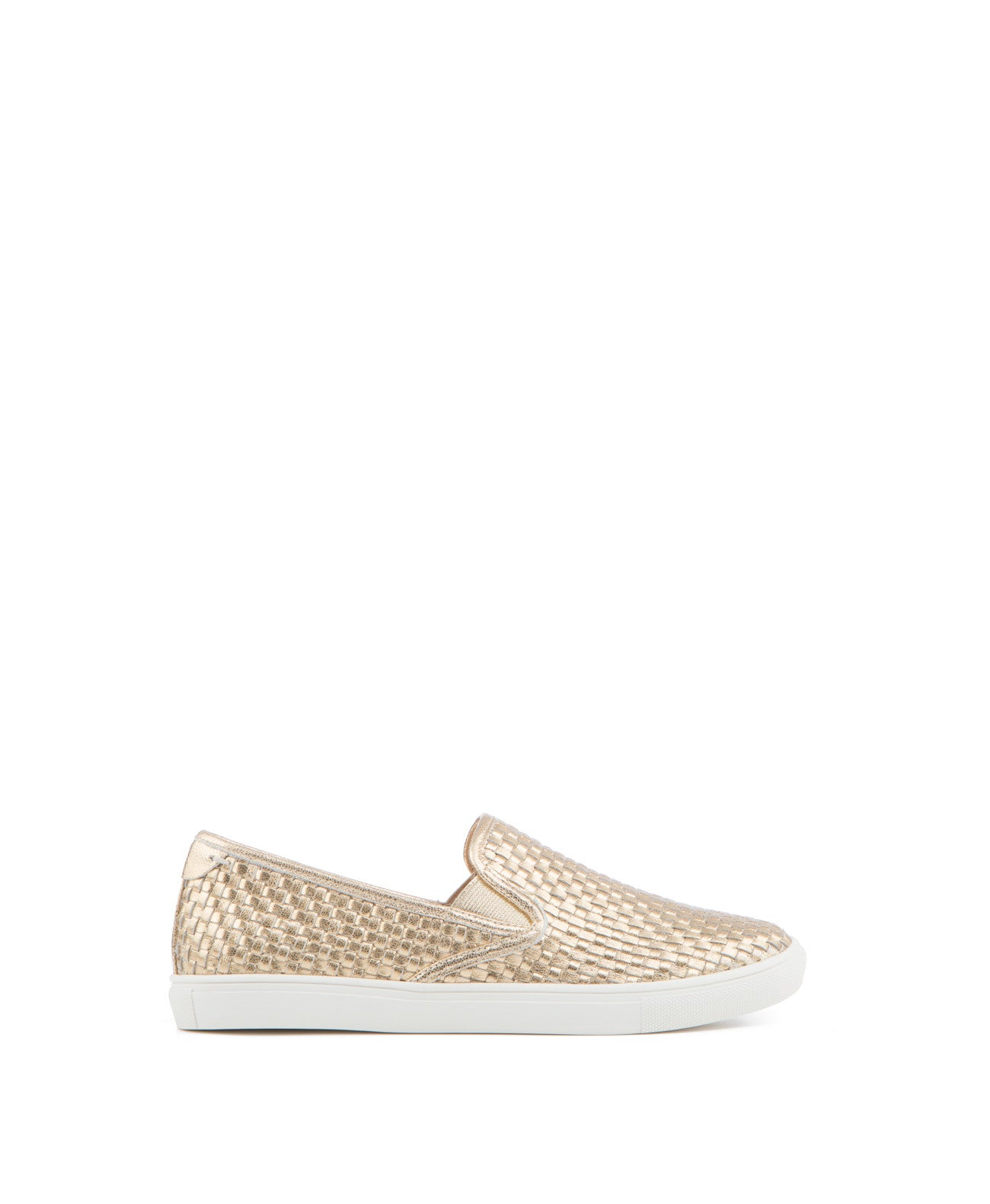 Calina Woven Leather Slip-on Sneaker - Koko & Palenki - 1