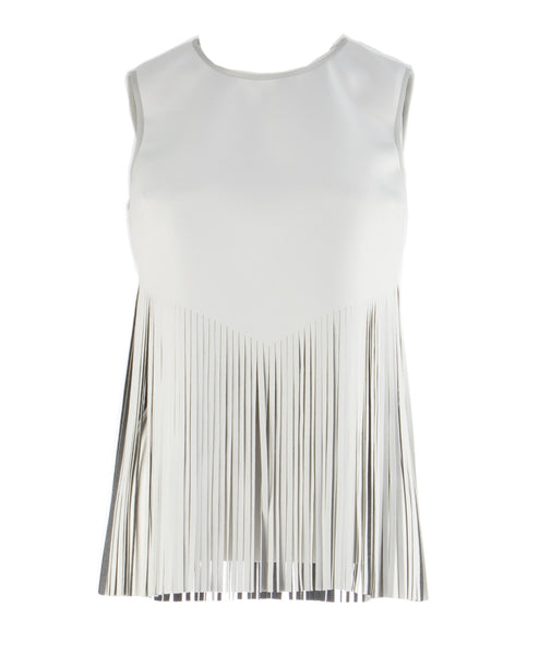 laser cut fringe top