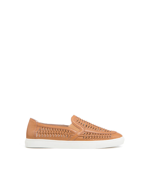 Cut-UP Huarache Leather Slip-On Sneaker