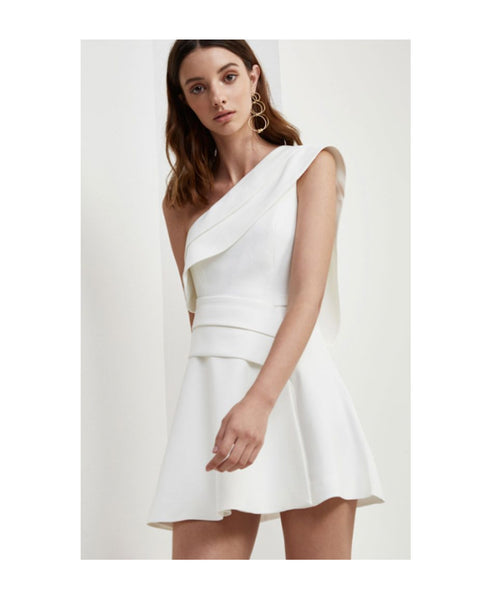 Dont Stop One Shoulder Aline Dress