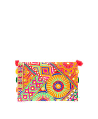 Bohemian Fold-Over Clutch