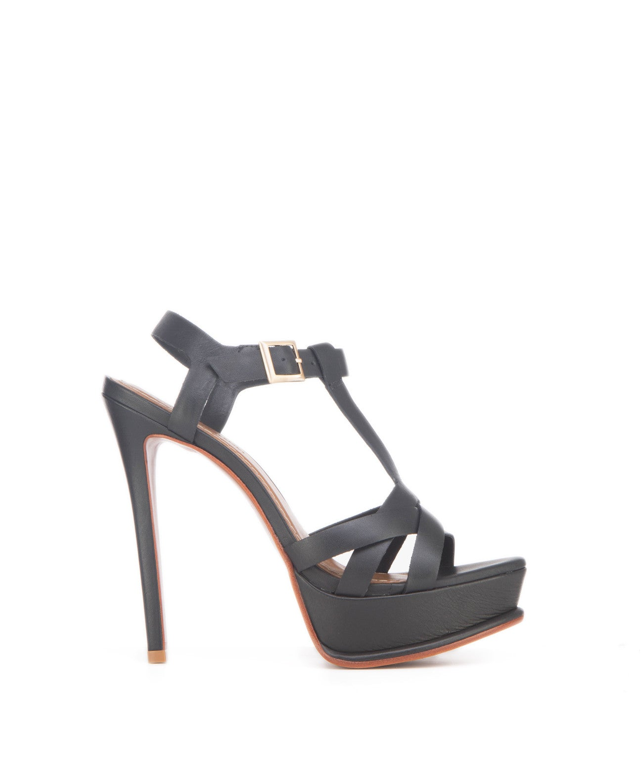 Gina black - Koko & Palenki - 1Measurements: height: 9.5 centimetres, heel: 10 centimetres, sole height: 1.5 centimetres