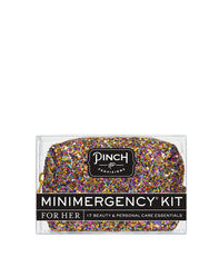 Glitter Bomb MiniEmergency Kit Gold Multi