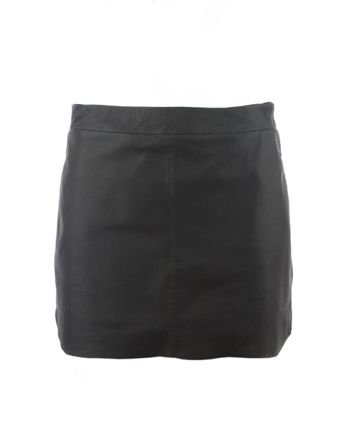 Jacob Leather Mini Skirt