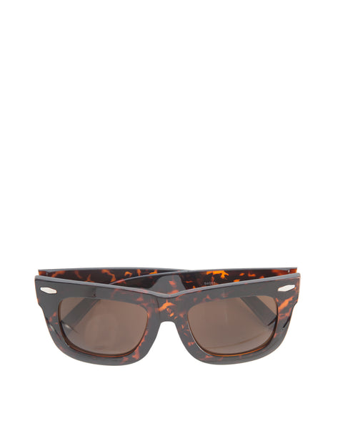 Jena Large Square Sunglass