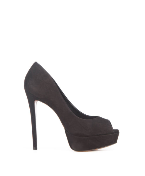 Kay black platform pump
