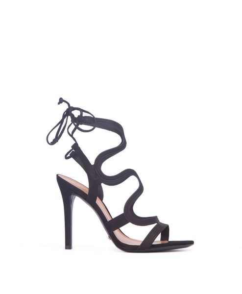 Lacie high heel sandal black