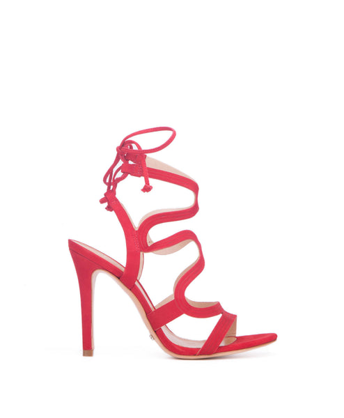 Lacie sandal red