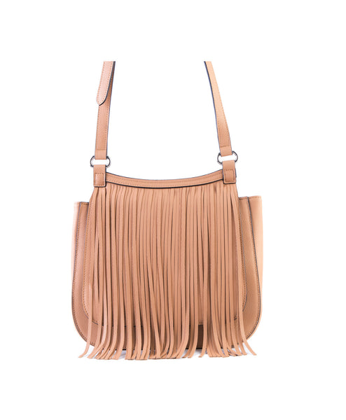 Laine Fringe Messenger Bag