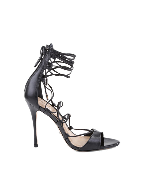 Leila Lace-up High Heel Sandal
