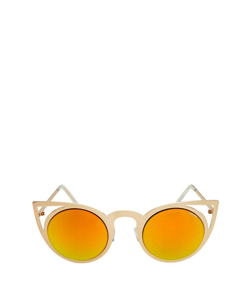 Luna Round Cat Eye Sunglasses