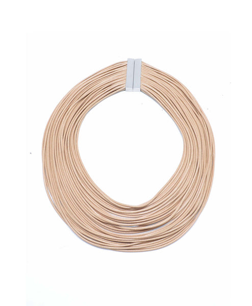 N1129TAN Layered Ropes Necklace