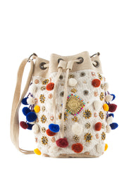 Ojas crossbody bucket handbag
