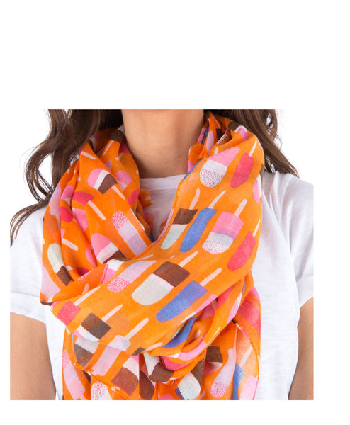 Popsicle Printed Scarf