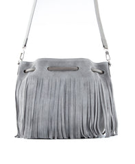 Royce Crossbody Bucket Bag w/ Fringe - Koko & Palenki - 3