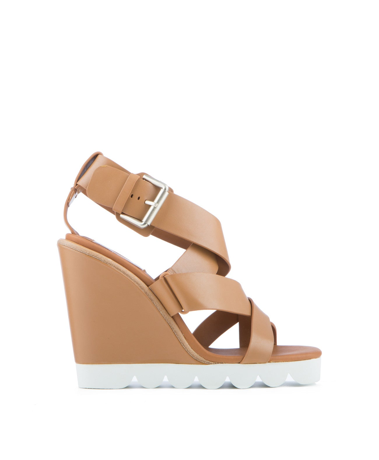 Tiny Leather Wedge - Koko & Palenki - 1