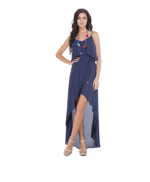 Vicki High-low Maxi Dress