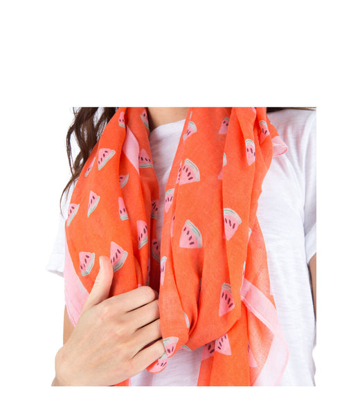 Watermelon Printed Scarf