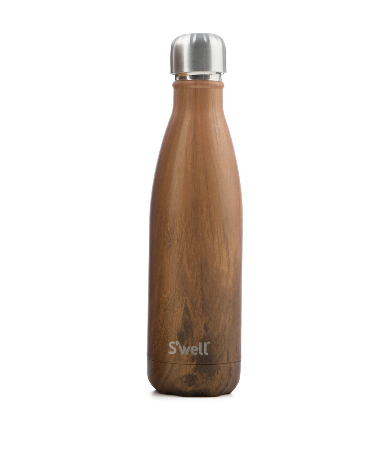 Teakwood Stainless Steel Bottle - Koko & Palenki - 1