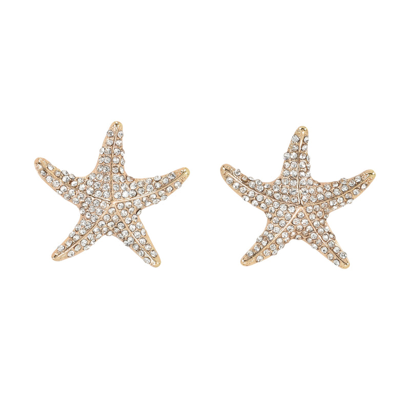 Bling Starfish Gold