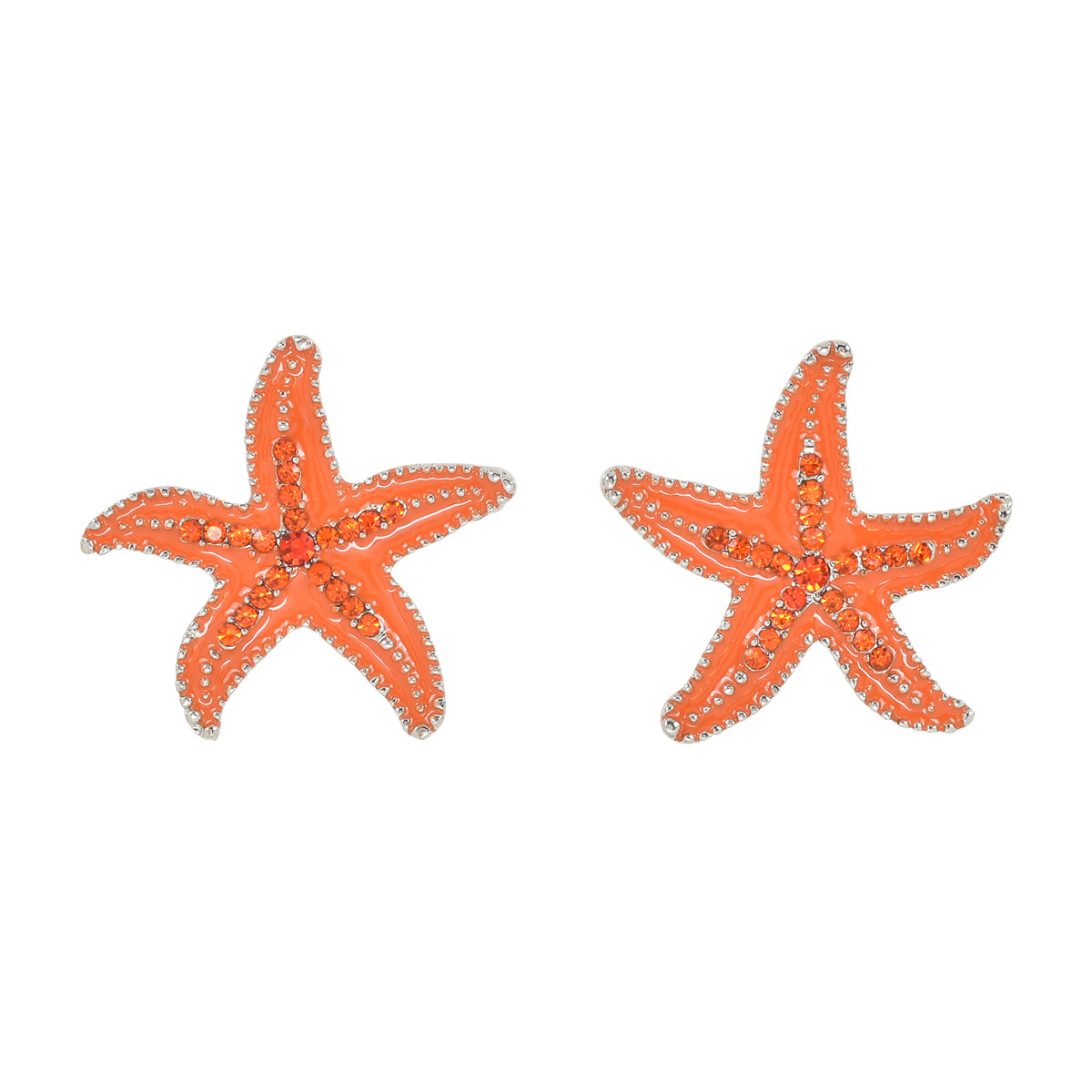 Crystal Starfish Orange