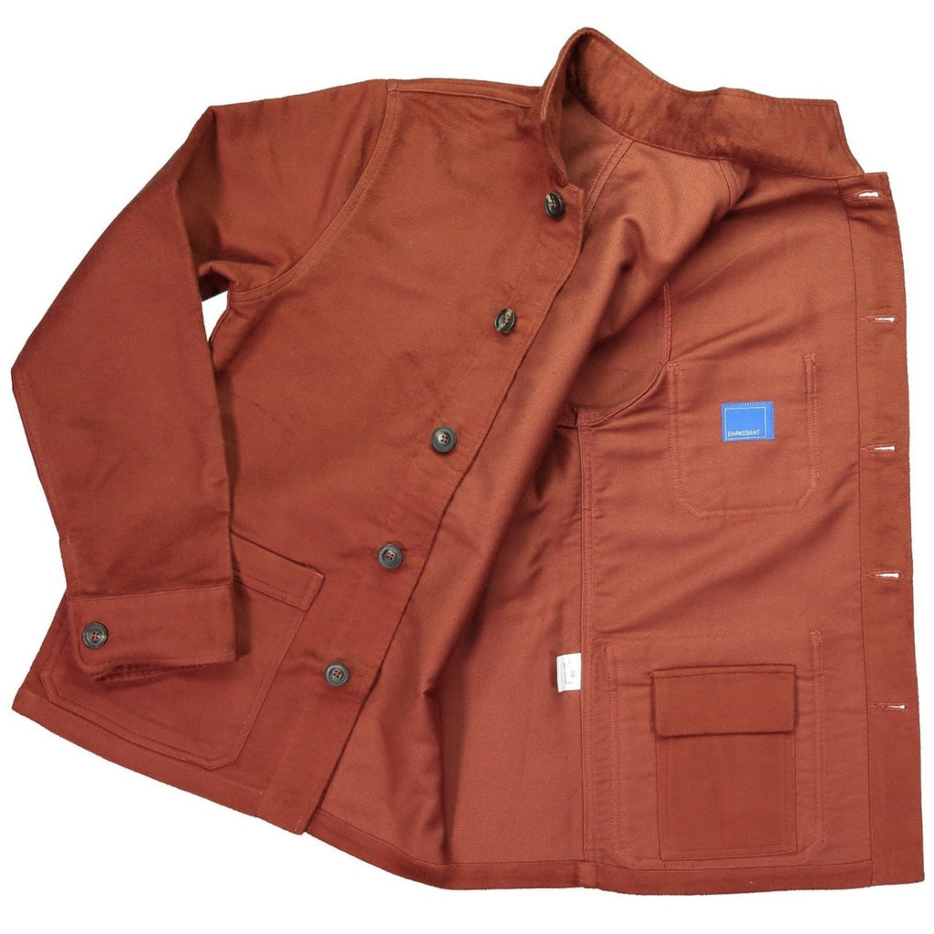 En Passant EP2 Workmans Jacket Rust Moleskin