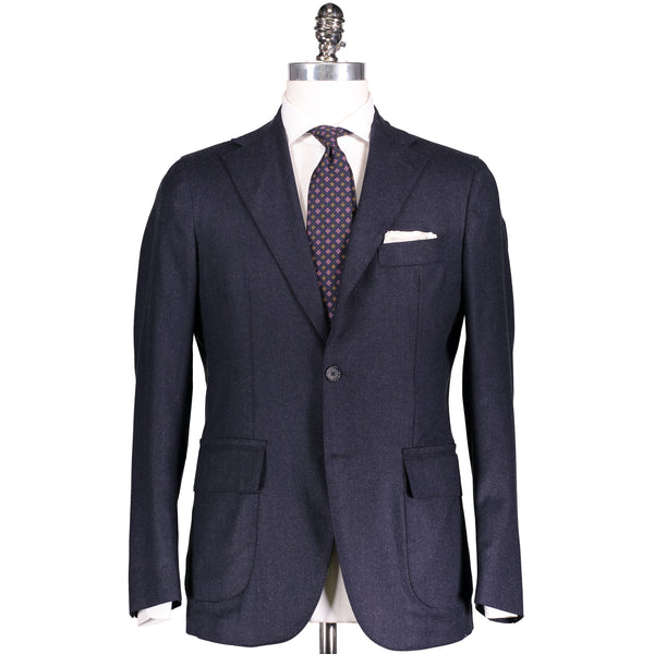 Slate Blue Flannel Campania Suit