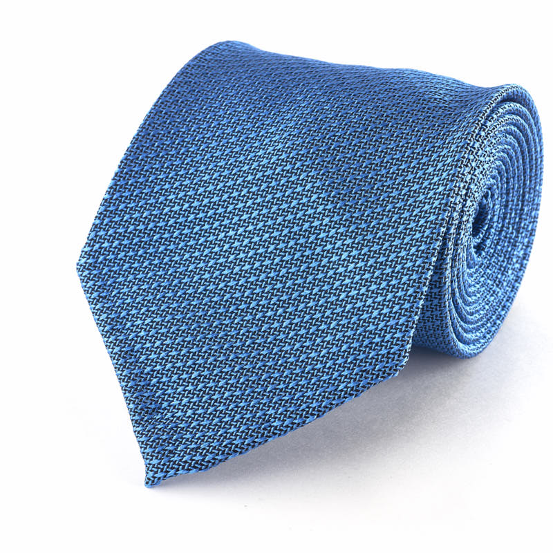 Silk Tie -Light Blue Grenadine.