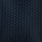 Knit Tie - Navy Cotton