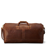 J.W.Hulme Medium Leather Duffle in Heritage Leather