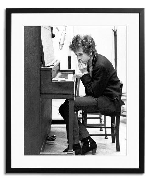 Dylan Recording Highway 61, Framed photograph
