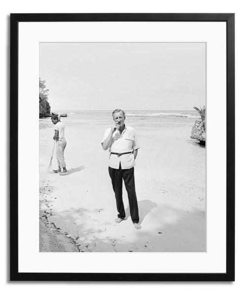 Fleming in Jamaica, Framed photograph