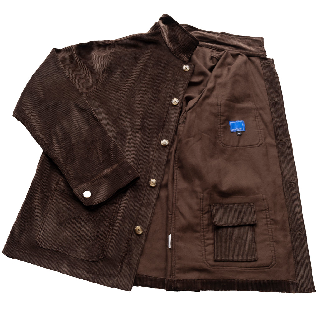 En Passant EP2 Workmans Jacket Brown Corduroy