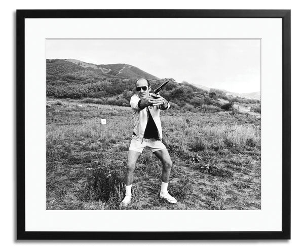 Hunter S. Thompson 1976, Aspen, Framed photograph