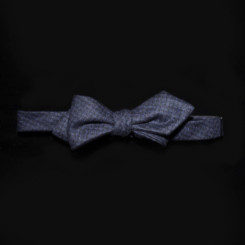 Bow tie - Navy and Black check