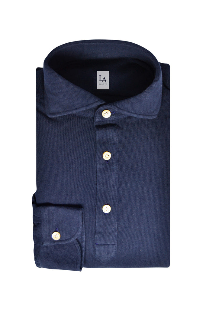 Shirt - The Friday Polo - Blue