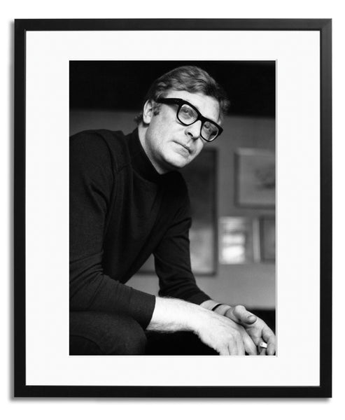 Michael Caine 1966, Framed photograph