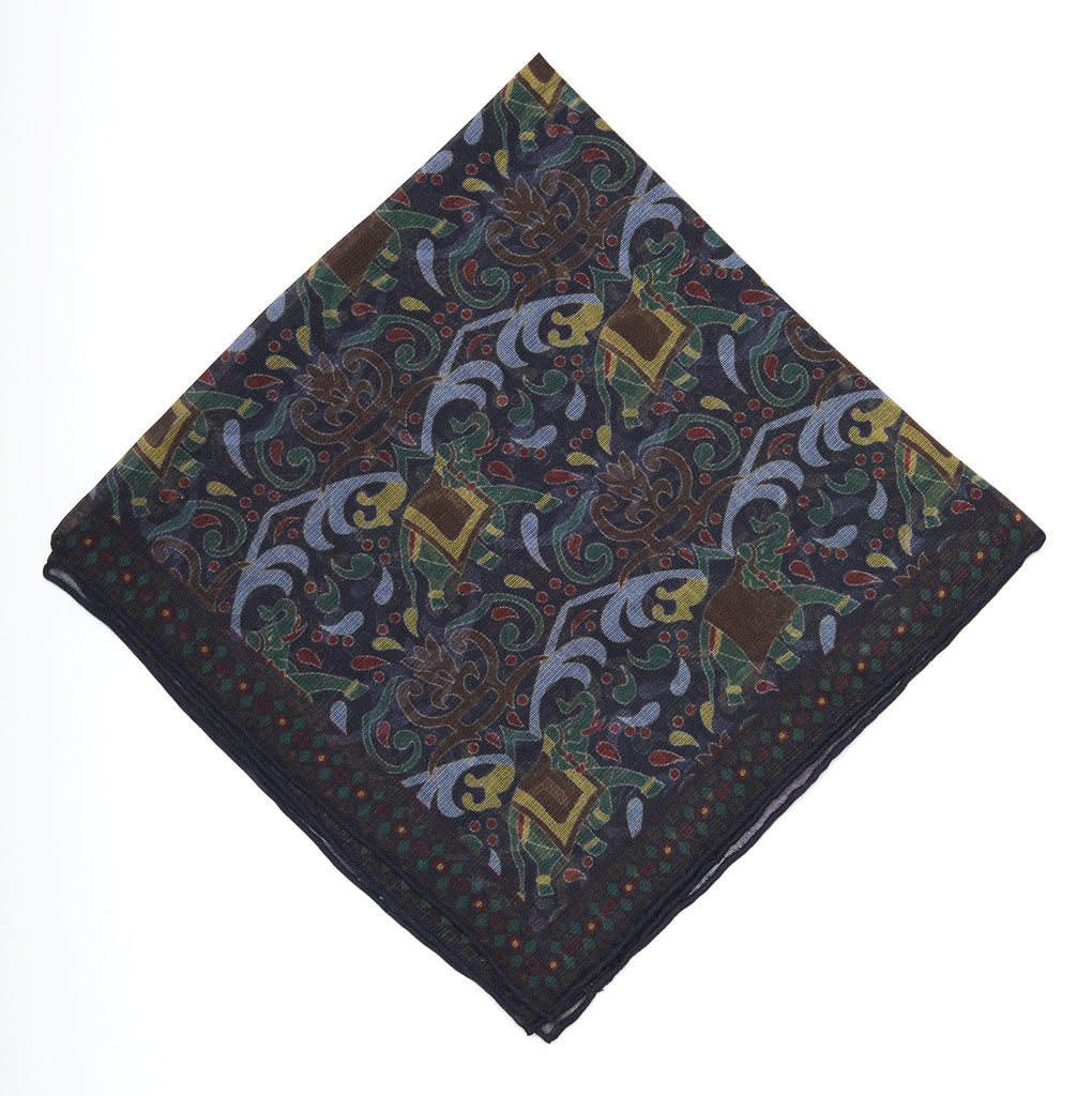 Pocket Square - Elephant Print