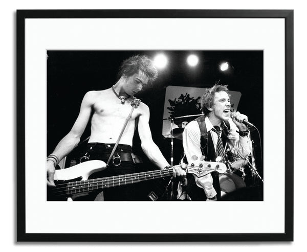 Sex Pistols last concert, Framed photograph