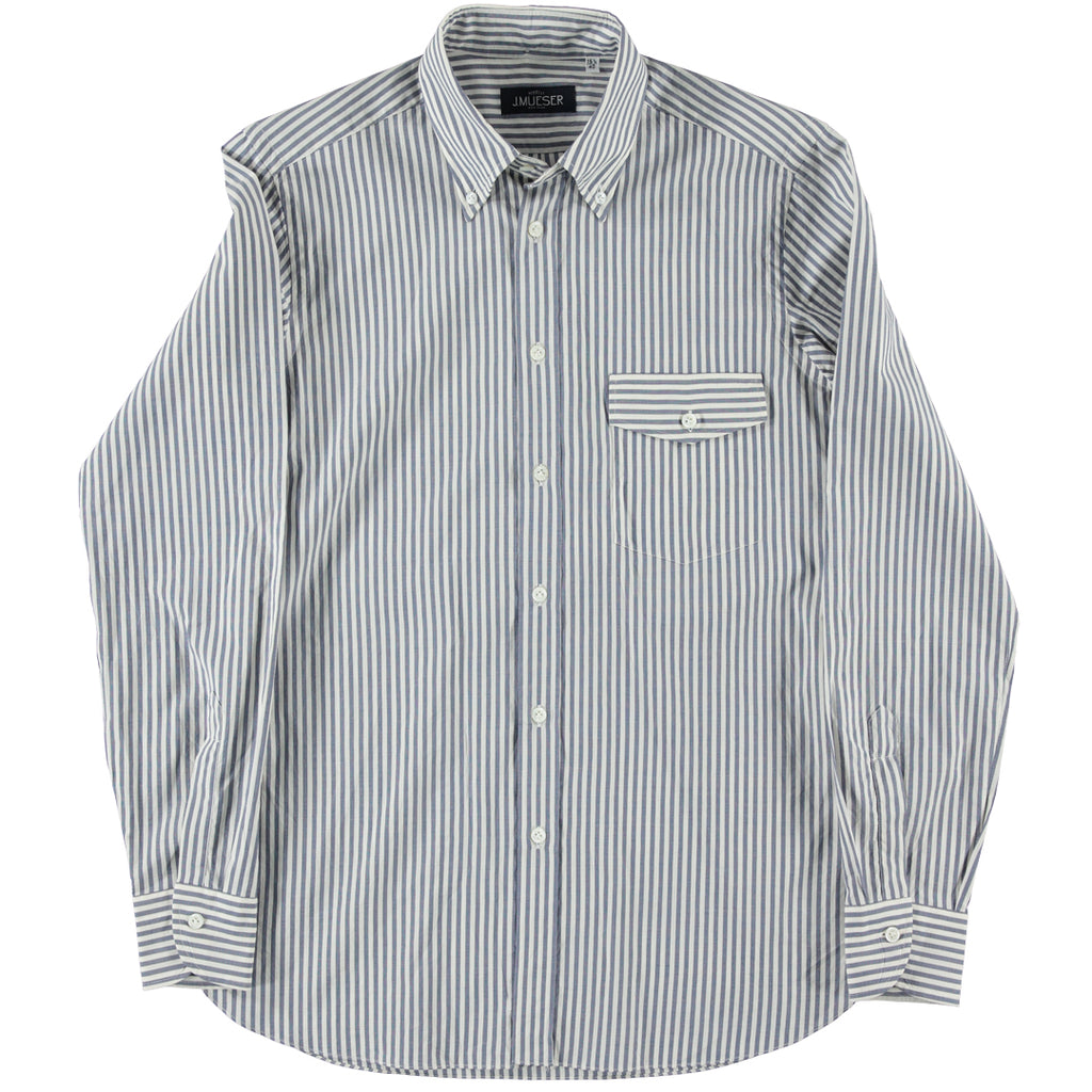 Blue Candy Stripe Shirt