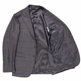 Grey/Blue/Berry Checked Sports Jacket