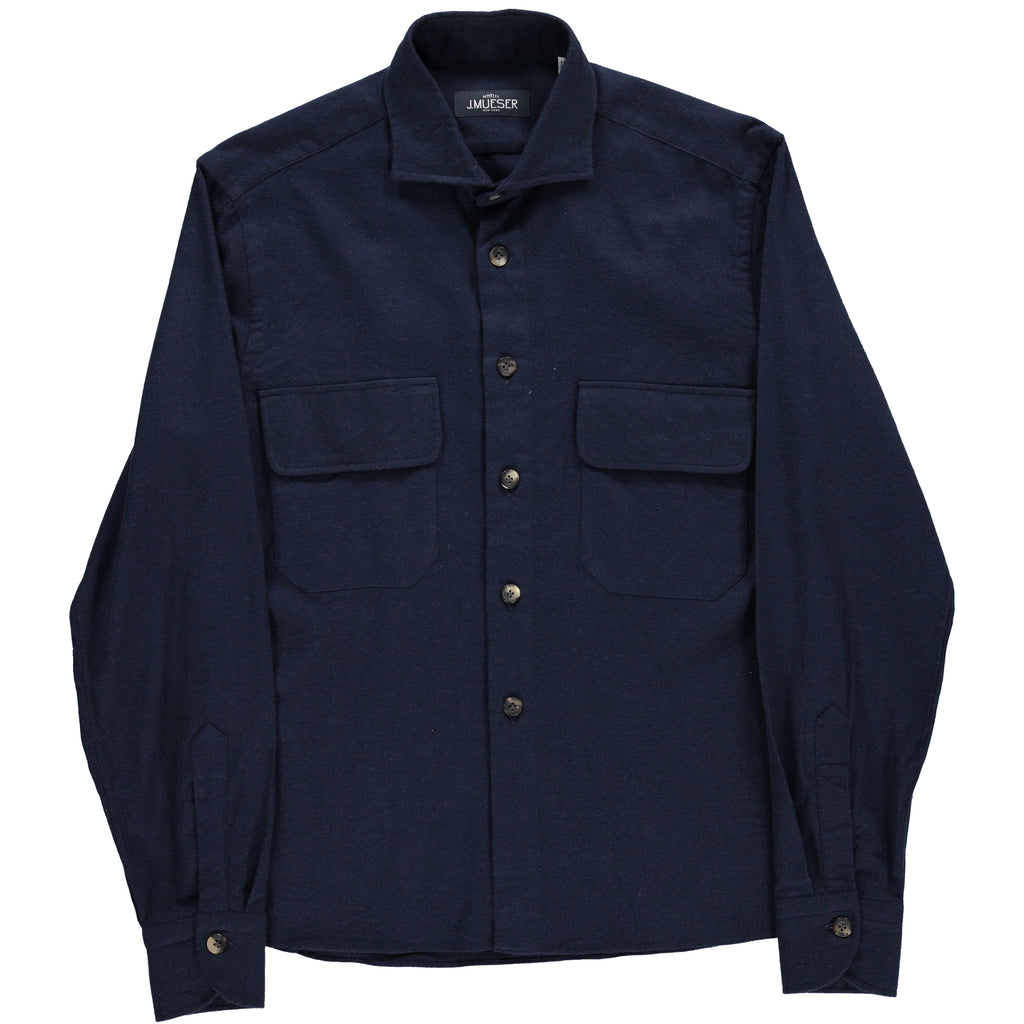 Fireplace Shirt in Navy