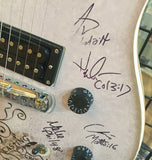 PRS SE Custom Creme Promotional Guitar Signed by Casting Crowns