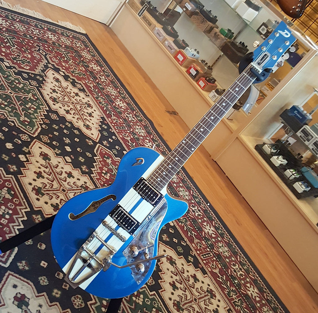 Duesenberg Mike Campbell Signature Blue/White